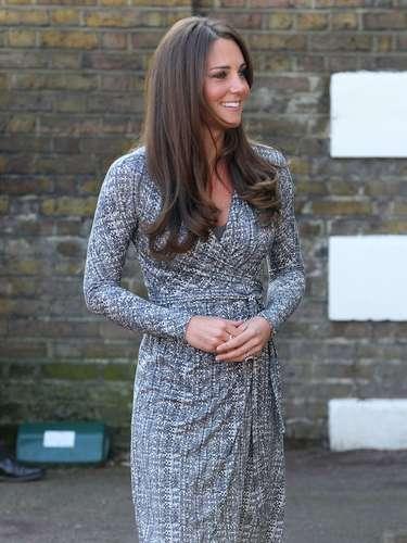 Catalina se veía más hermosa que nunca y cómo no, si su embarazo la hace ver muy feliz