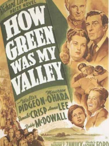 En 1941 el drama How Green Was My Valley del director John Ford obtuvo la estatuilla de oro.