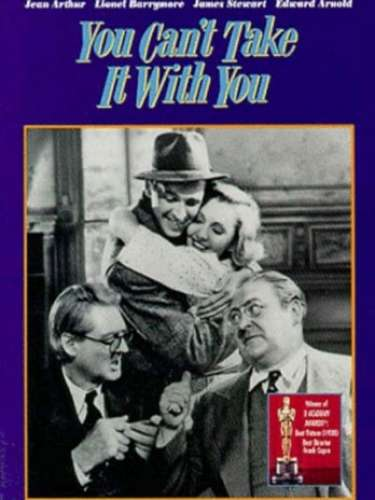 En 1938 vuelve la comedia romántica a ser reconocida con You Can't Take It with You del director Frank Capra.