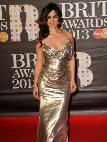 La belleza deBérénice Marlohe llegó hasta la alfombra de los Brit Awards 2013. La francesa fue una de las más admiradas en la alfombra roja de la premiación.