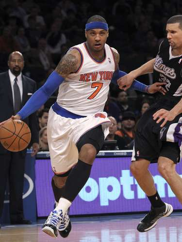 Knicks trade for Carmelo Anthony: In 2011, the Knicks traded Raymond Felton, Danilo Gallinari, Timofey Mozgov, Wilson Chandler and New York's 2014 first-round pick to the Denver Nuggets for Anthony, Chauncey Billups, Shelden Williams, Anthony Carter and Renaldo Balkman. Anthony alone has been worth it for the Knicks, as he is second in the league in scoring and New York has the second-best record in the East. the Nuggets acquired enough pieces to remain a playoff team, and in 2012 they are a top-5 team in the West.