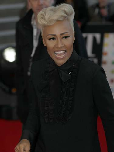 Emeli Sande arrives for the BRIT Awards at the O2 Arena in London February 20, 2013.   REUTERS/Luke Macgregor (BRITAIN  - Tags: ENTERTAINMENT SOCIETY)