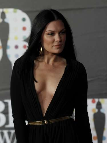 British singer Jessie J arrives for the BRIT Awards, celebrating British pop music, at the O2 Arena in London February 20, 2013. REUTERS/Luke Macgregor (BRITAIN  - Tags: ENTERTAINMENT)