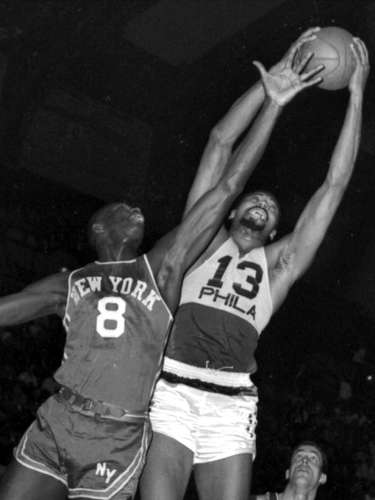 76ers trade for Wilt: In 1965, the Philadelphia 76ers traded Connie Dierking, Paul Neumann, Lee Shaffer and cash to the San Francisco Warriors for Wilt Chamberlain. The Sixers became instant contenders, and led by Wilt won the 1967 NBA title with one of the greatest teams in league history.