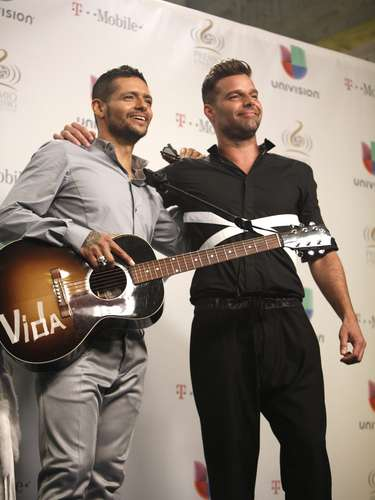 Even those Draco Rosa is responsible for writing some of Ricky's biggest hits including the crossover smash, 'Livin' la Vida Loca,' they hadn't shared a stage since they were in Menudo together in 1980!