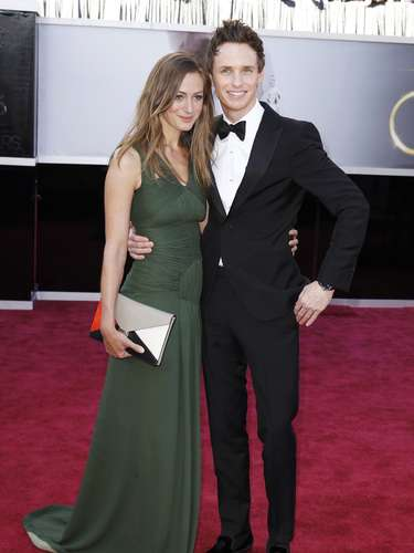 El actor Eddie Redmayne de \