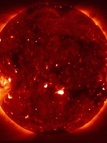 La actividad solar ha ido aumentando desde 2009 cuando astrónomos de la NASA bautizaron a una gigantesca mancha solar como \