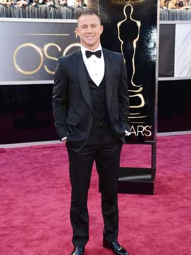 Channing Tatum fue el encargado de presentar uno de los premios de la noche.
