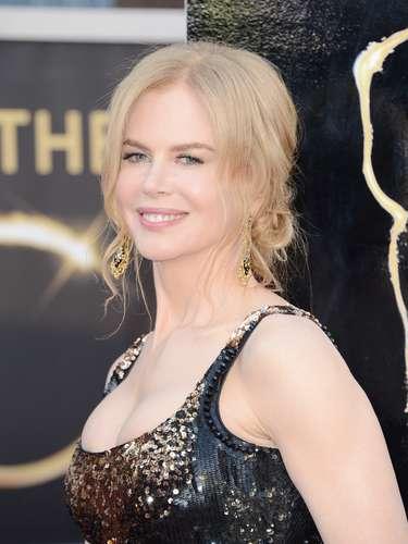 Nicole Kidman logró con gran acierto destacar sus atributos.