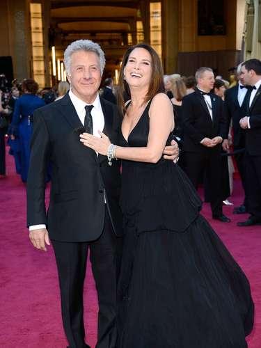 Dustin Hoffman junto a su esposa Lisa Hoffman.
