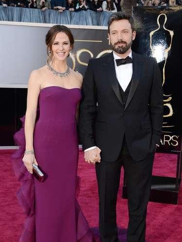 Jennifer Garner y Ben Afleck, una de las parejas más estables y sencillas de Hollywood llegaron para vivir una noche emocionante.