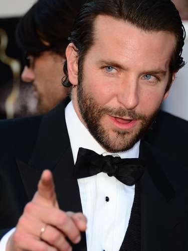 Bradley Cooper, ¡guapísimo! y feliz con su nominación al Oscar por su actuación en \