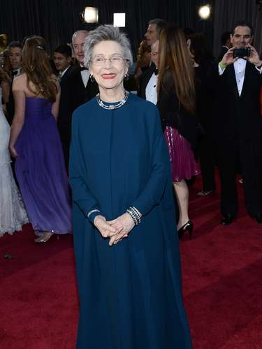 La nominada al Oscar por su actuación en \