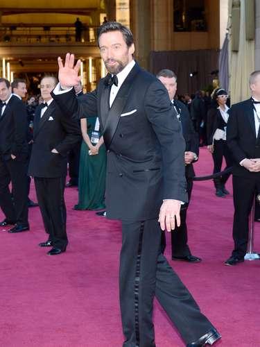 Hugh Jackman a la espera de llevarse el título a Mejor Actor.
