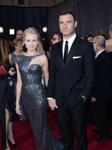 Junto a su esposo Liev Shreiber celebró su nominación.