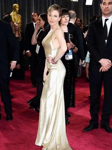 Renée Zellweger se ha empeñado en lucir una figura perfecta.