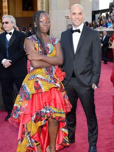 La actriz Rachel Mwanza junto al cineasta Kim Nguyen.