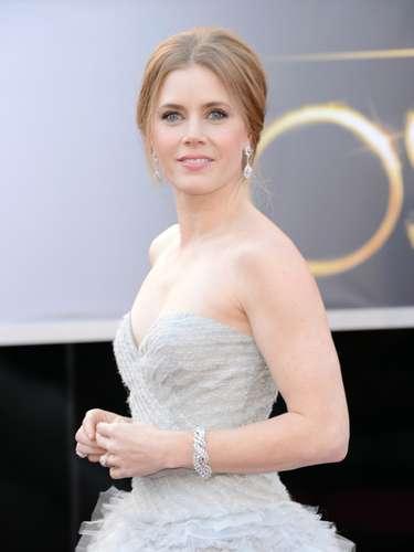 Amy Adams, nominada para la categoría de mejor actriz de reparto, por su actuación en \