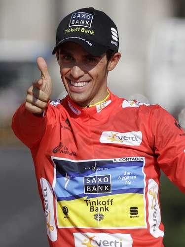 España tiene a un segundo representante en el apuesto ciclista Alberto Contador, ganador del Tour de Francia en 2007 y 2009, del Giro de Italia de 2008 y de la Vuelta a España en 2008 y 2012