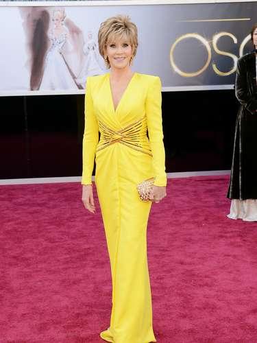 Jane Fonda, nos deja atónitos con su belleza