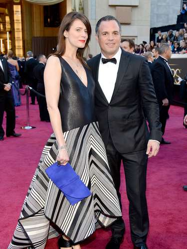 'The Avengers' actor Mark Ruffalo and his wife Sunrise Coigney.