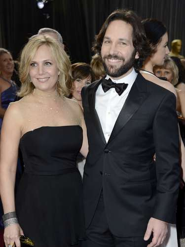 Actor Paul Rudd brings the love of his life Julie Yaeger to film's biggest awards night.
