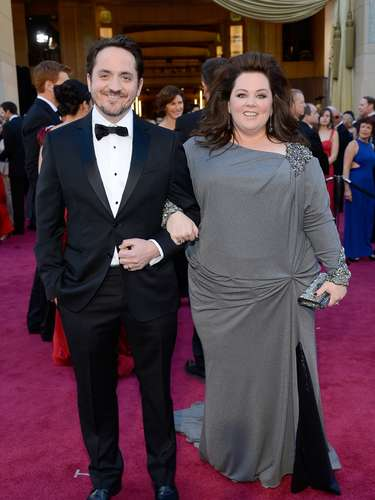 Melissa McCarthy and hubby Ben Falcone are a first rate comedic couple.