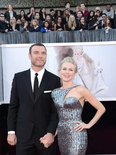 Actor Liev Schreiber and 'The Impossible' actress Noami Watts are classic.