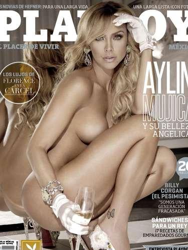 Aylín Mujica aparece más libre que nunca, disúesta a robar el sueño a los lectores de la revista del conejito.
