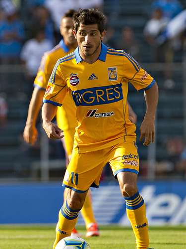 Damian Alvarez has played on the Mexican national team. Club: Tigres. Place of Birth: Buenos Aires, Argentina.