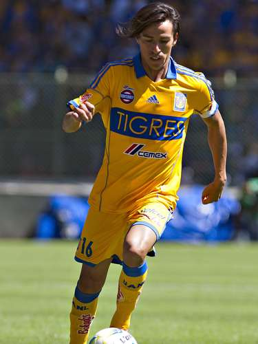Lucas Lobos sped up his naturalization process for his children. Club: Tigres. Place of Birth: La Plata, Argentina.