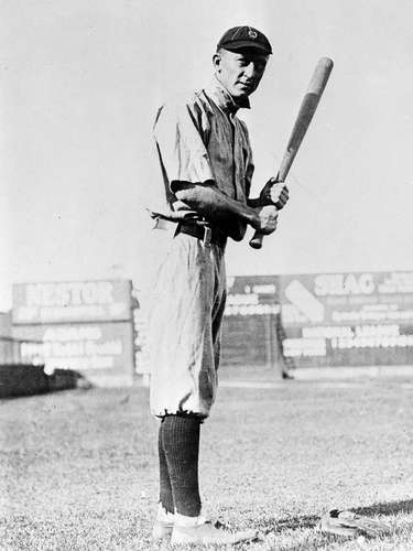 6. Ty Cobb, 'The Georgia Peach:' Cobb earned his nickname because he was born in Georgia, where the peach is the state fruit. But it may have been a contradictory nickname, because Cobb was anything but a peach on the field of play, as one of the most ferocious and angriest players of his time.