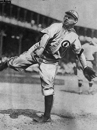 4. Mordecai 'Three Fingers' Brown: Brown earned his nickname for obvious reasons, as he lost parts of two fingers on his hand in a farming accident. Brown won 209 games and was elected to the Hall of Fame in 1948.