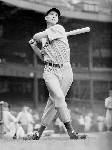 2. Ted Williams, the 'Splendid Splinter:' Williams earned his most famous moniker when he came up on account of his thin frame and his ability to hit. He later earned another just as famous nickname, 'Teddy Ballgame.'