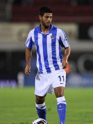 Un guapo mexicano es el goleador de la Real Sociedad Carlos Vela, quien brilla en la Liga Española y con el Tri.