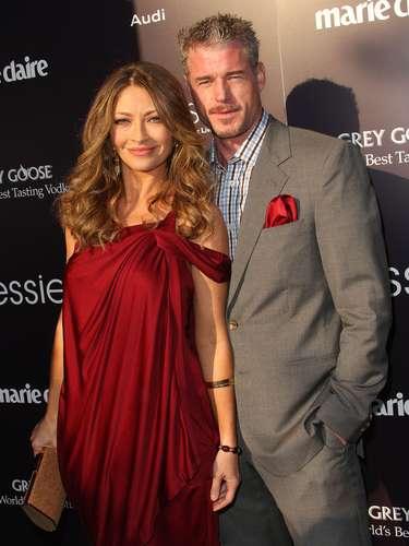 El guapísimo actor de 'Greys Anatomy', fue protagonista de un triángulo amoroso muy diferente en el 2009.