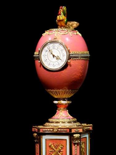 El Huevo de Faberge de Rothschild. La puja por la pieza empezó en los once millones de euros.