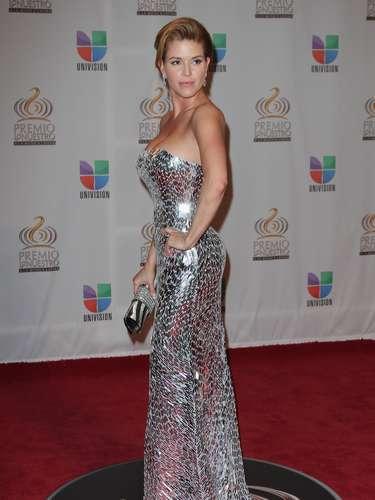 Alicia Machado no resistió el encierro y mientras participaba en el reality español La Granja se dejó llevar por la pasión ante las cámaras.