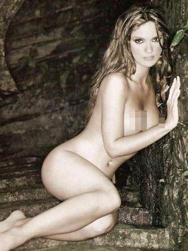 A Mariana Seoane también le llegaron al precio. La llamada 'Niña Buena' mostró sus encantos sin llegar al desnudo integral en la edición de octubre de 2007.