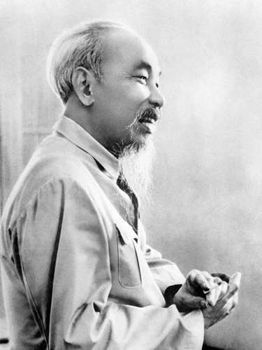 El mítico Ho Chi Minh, presidente del Partido Comunista de Vietnam del Norte,fue embalsamado en 1969.