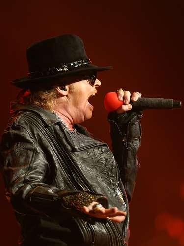 Guns N' Roses performs live on stage at Allphones Arena on March 12, 2013 in Sydney, Australia.