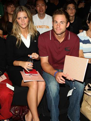Andy Roddick y Brooklyn Decker: El ex tenista y la bella modelo estadounidense de Sports Illustrated y Victoria's Secret están casados desde 2009.