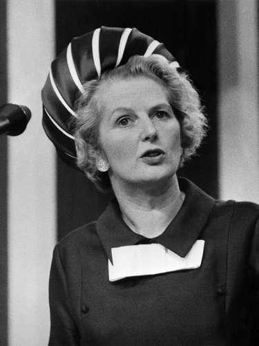 Retrato de Margaret Thatcher, en ese entonces ministra de Educación, tomado en 1970.