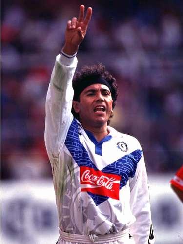 Hugo Sánchez apareció para el Invierno 97', aunque sólo jugó ese torneo para el Celaya.
