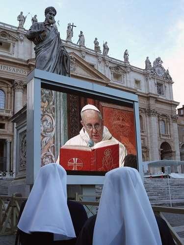 Dos años después, en la Conferencia Episcopal Argentina que presidía Bergoglio, advirtió que \