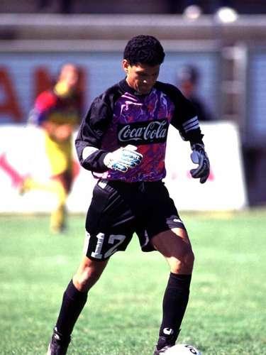 Hugo Pineda era el portero de aquel equipo.