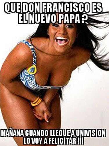 Los puertorriqueños no se hicieron esperar con sus bromas. El diario Primera Hora publicó una imagen que se había difundido a través de Facebook Y Twitter, donde se observa a Maripily , modelo y concursante de la pasada temporada de \