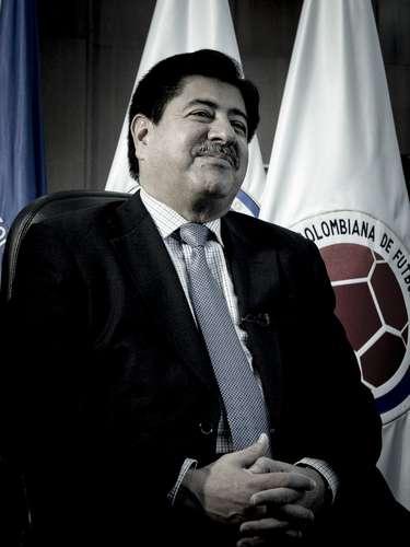 El máximo dirigente del fútbol colombiano habló de su vida, de su familia y de sus sueños
