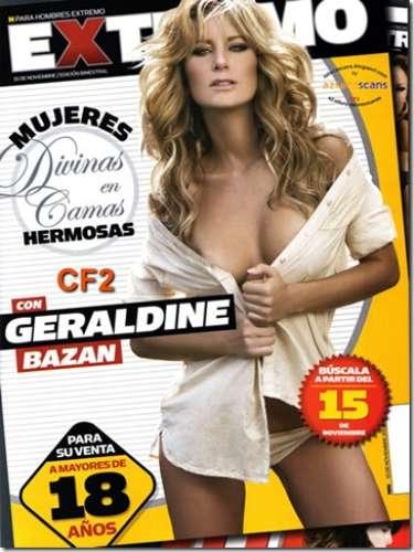 Géraldine Bazán hizo su aparición en H Extremo en noviembre de 2008.