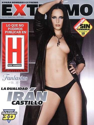 La aparición de Irán Castillo en la edición de julio de 2007 fue toda una sorpresa.